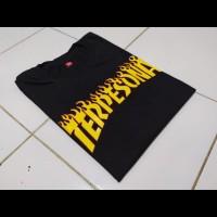Kaos distro Terpesona viral / t-shirt custom Thraser / baju pria