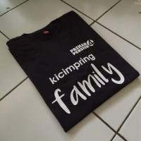 T-SHIRT BAJU KAOS KECIMPRING FAMILY PREMAN PENSIUN