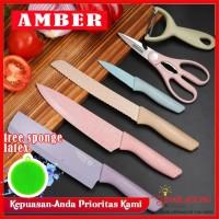 AMBER KITCHEN KNIFE 6IN1 MULTICOLOR - ORIGINAL