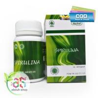 Masker Spirulina Herbal Alami Isi 60 Kapsul - Spirulina