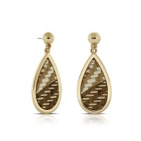 Anting Emas Boho Drop   Boho Drop Gold Earrings
