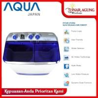 AQUA MESIN CUCI 2 TABUNG 10 KG QW-1080XT QW 1080XT QW1080XT - RESMI
