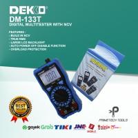 DEKKO DIGITAL MULTITESTER MULTIMETER AVOMETER DM-133T TRUE RMS NCV