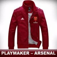 Jaket Bola Arsenal Keren - Merah, M