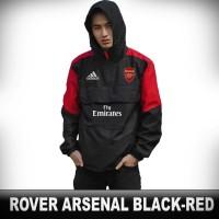 Jaket Bola Rover Arsenal The Gunners Liga Inggris Murah - Hitam, M - Hitam, M