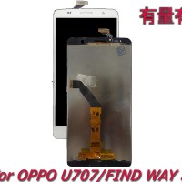 LCD TOUCHSCREEN OPPO U707 - FIND WAY S - LCD TS OPP WHITE