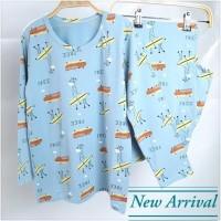 Baju Tidur Anak Laki laki usia remaja 10 - 14 tahun Bahan Premium -
