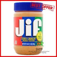 Selai Selay Kacang JIF Extra Crunchy Peanut Butter 454gr Impor