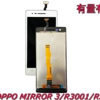 LCD TOUCHSCREEN OPPO MIRROR 3 - R3001-R3000 - LCD TS OPP WHITE