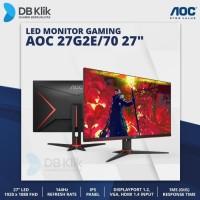 LED Monitor Gaming AOC 27G2E/70 27 144Hz Full HD HDMI Display Port