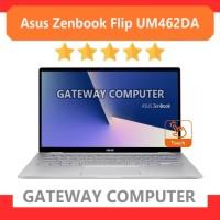 Asus Zenbook Flip UM462DA AMD Ryze 5 3500U RAM 8GB SSD 512GB 14 FHD