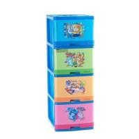 Lemari Laci Excel Container Susun 4 L4 Xc-12 Lion Star   Laci Plastik