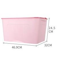MINISO Kotak Penyimpanan Storage Box Baju Multifungsi Ukuran Besar -