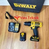Mesin bor baterai cordless hammer drill DCD716C2K DEWALT DCD716