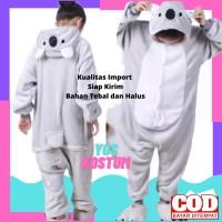 Kostum Anak Koala Impor Baju Tidur Piyama Animal Binatang Boneka Lucu