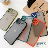 IPHONE 6 6s 7 8 PLUS X XR XS MAX 11 PRO MAX SoftCase Camera Protection - IP6 I 6S PLUS, MIDNIGHT GREEN