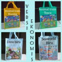 Best Seller Tas Souvenir Ultah/Bingkisan/Goodie Bag Animal Spunbond