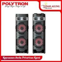 POLYTRON SPEAKER AKTIF PAS 10D22 USB BLUETOOTH - RESMI