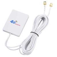 Antena Modem Eksternal 4G LTE 28dBi Konektor SMA Kabel 3m Huawei ORBIT