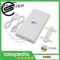 Antena Modem 4G LTE Dual SMA 700-2600mhz Huawei Orbit In Out Door 88dB