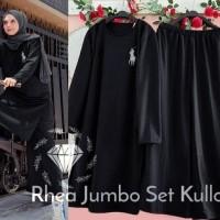 Setelan Olahraga Wanita Baju Gowes Kaos Sepeda Training Muslimah Jumbo