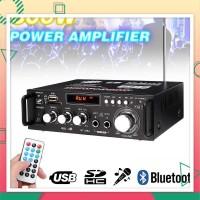 Bluetooth EQ Audio Amplifier Karaoke Home Theater FM Radio 600W