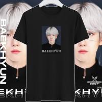 Kaos K-POP Exo Baekhyun   Baju Custom Byun Baek-hyun PREMIUM