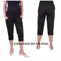 Baju hamil celana hamil 525 baju hamil - hitam, allsize