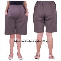 Baju hamil celana hamil 526 baju hamil jumbo - abu tua, allsize
