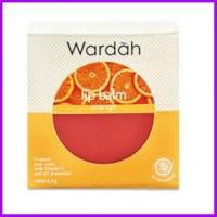 Wardah Lip Balm Orange 6.5 g