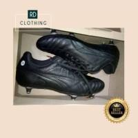 Sepatu Bola kulit - Sepatu Bola Custom Leather Kulit Original - 38
