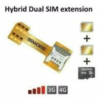 Adapter Dual Sim Card - Sim Card Adapter Hybrid - Nano Sim - Micro Sim