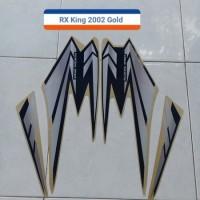 Striping Lis Sticker Motor Yamaha RX King 2002 Gold
