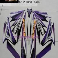 Striping Stiker Motor Yamaha Scorpio Z 2008 Lis Ungu