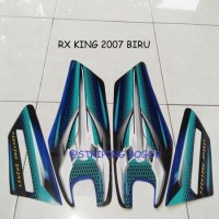 Striping Lis Sticker Motor Yamaha RX King 2007 Biru