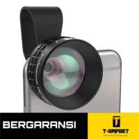 Aukey Optic Pro 2x Telephoto Lens Angle Fish Eye for Smartphone- Black