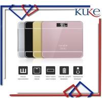 KUKE LS-12 Timbangan Badan Digital Indikator Iscale SE Kaca Scale