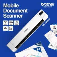 Portable 2-sided (Duplex) Document Scanner DS-940DW