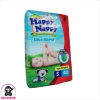 HAPPY NAPPY Baby Diapers Popok Perekat S40 S 40