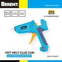 BERENT Lem Tembak 20 Watt Hot Melt Glue Gun BT9342