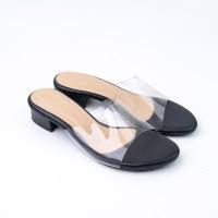 FLADEO Sepatu Heels Wanita LDH307-1RA - 38, Hitam