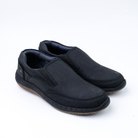 FLADEO Sepatu Sneaker Pria MSC180-2AH - 39, hitam