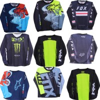 Jersey baju sepeda anak/baju kaos motor cross anak size