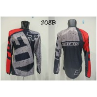 jersey baju sepeda mtb dewasa baju motor cross baju balap motor dewasa