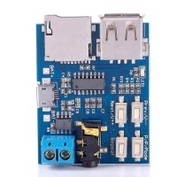 MP3 Player Audio Decoding Decoder Module Board With Micro USB Port