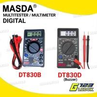 Multimeter Avometer Multitester Digital DT830B/DT830D Buzzer