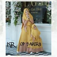 Baju Couple Ibu Dan Anak Perempuan Muslim Gamis SYARI PAKAIAN LEBARAN