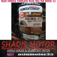 Ban Corsa Tubeless R26 90/80 Ring 17