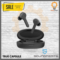 Soundpeats Truecapsule TWS Earphone Headset Wireless Bluetooth 5.0