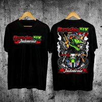 Kaos/T-Shirt Dtracker KLX Indonesia V-05